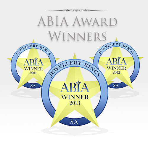 ABIA Award Winners of 2011, 2012 & 2013 - Jewellery Rings