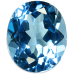 Blue Topaz Gemstone - Jewellery and Stones - Coloured Stones Adelaide