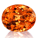 Mandarin Garnet Gemstone - Jewellery and Stones - Coloured Stones Adelaide