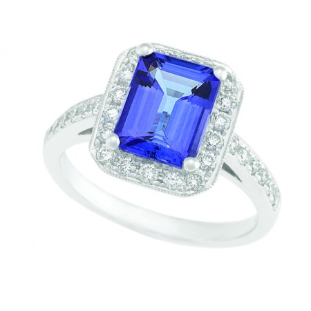 Tanzanite Jewellery - Jewellery and Stones - Coloured Stones Adelaide
