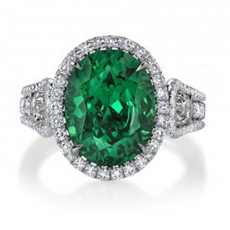 Tsavorite Garnet Jewellery - Jewellery and Stones - Coloured Stones Adelaide