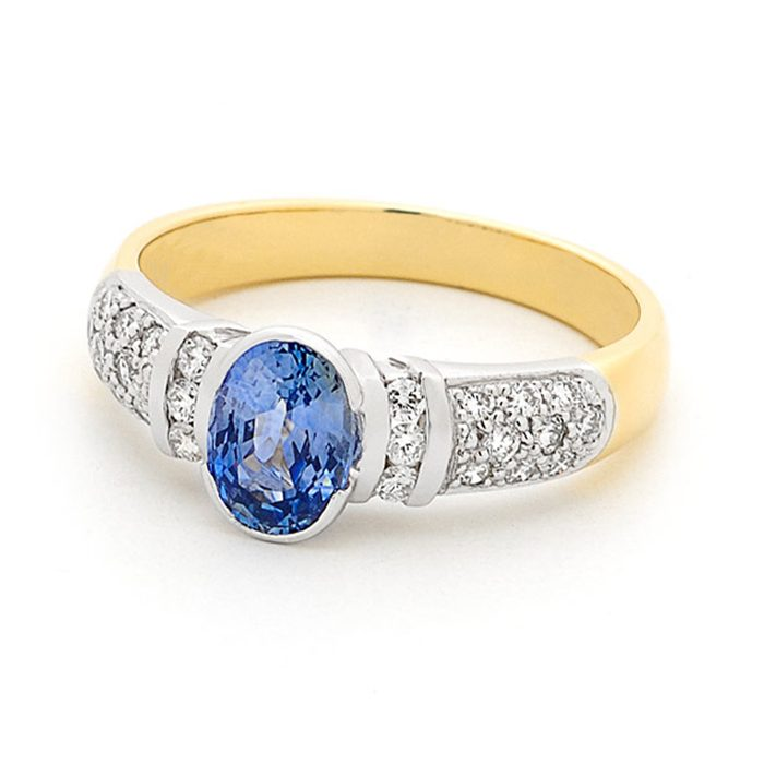 Blue Sapphire Ring 1