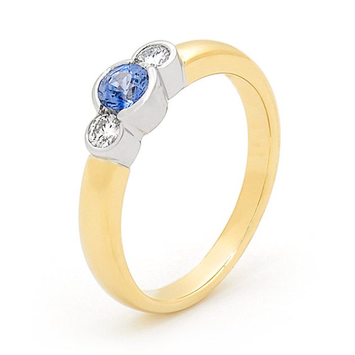 Blue Sapphire Ring 3