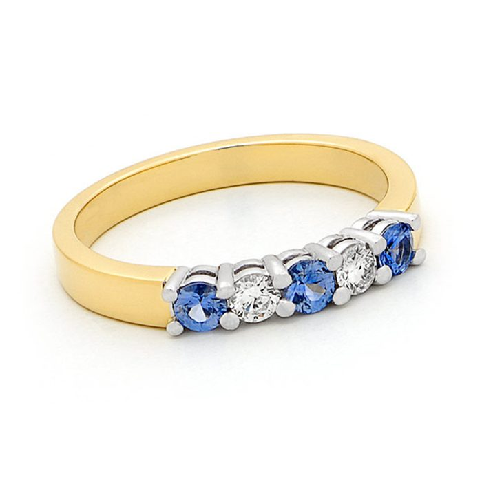Blue Sapphire Ring 4