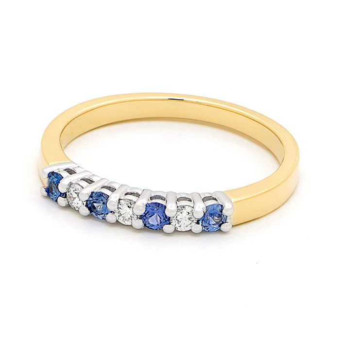 Blue Sapphire Ring 5