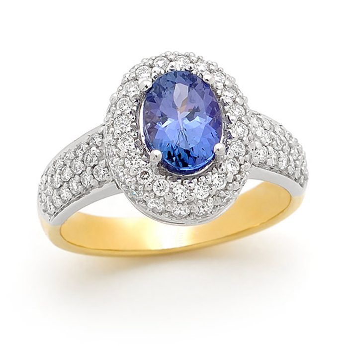 Blue Sapphire Ring 6