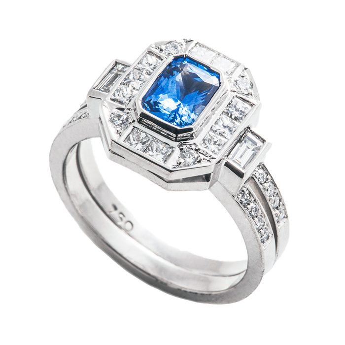 Blue Sapphire Rings 10