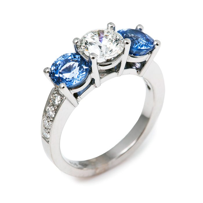 Blue Sapphire Rings 12