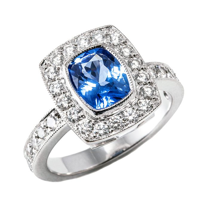 Blue Sapphire Rings 8