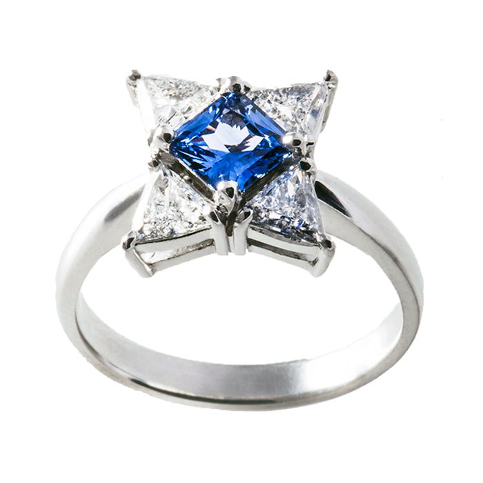 Blue Sapphire Rings 9