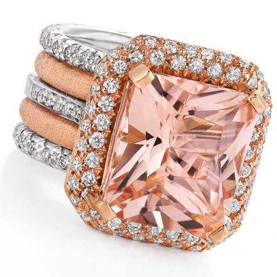 Morganite Jewellery - Jewellery and Stones - Coloured Stones Adelaide